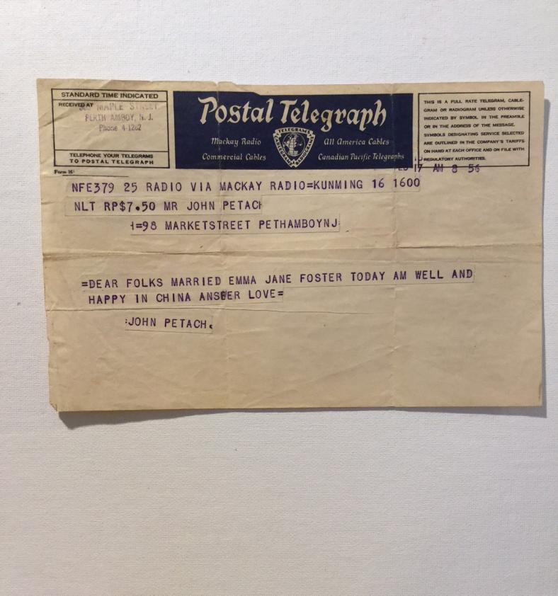 telegraph to mom