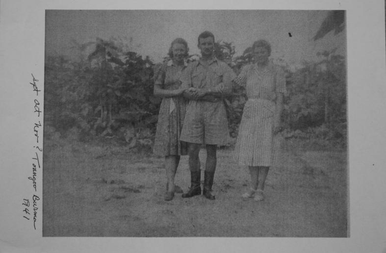 Johnnie Petach Toungoo Burma 1941