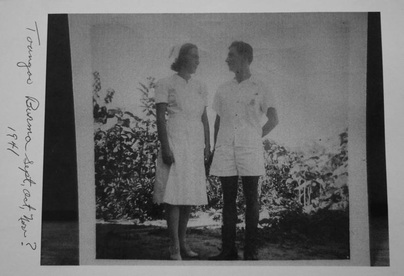 Taungoo (also spelled Toungoo) Burma 1941
