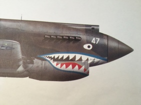 #47 Johnnie Petach Blue Lips Flying Tiger